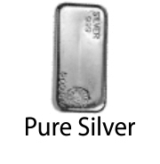 Pure Silver Feature of the Ring