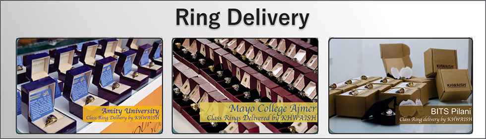 Ring Delivery at Mayo College, BITS PILANI, Amity University