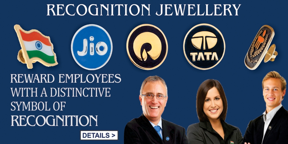recognition jewellery Reward your Employees with distinctive symbol of recognition custom corporate jewellery