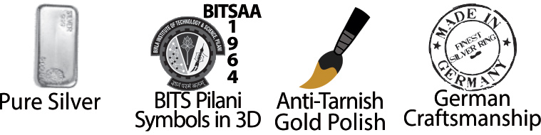 BITS PILANI RING FEATURES