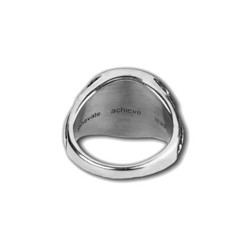 BITS Pilani Silver Ring Inside Back View By Khwaish Jewels